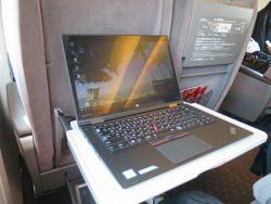 14インチのThinkPad X1 Yogaはグリーシャンにぴったりサイズ