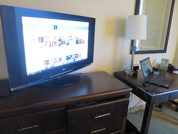 X1 Yogaをテレビにつなげてアマゾンプライムミュージック