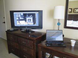 ThinkPad X1 Yoga テレビにつなげてマルチディスプレイ HDMI端子が大活躍